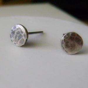 Sterling Silver Stud Earrings - Rec..